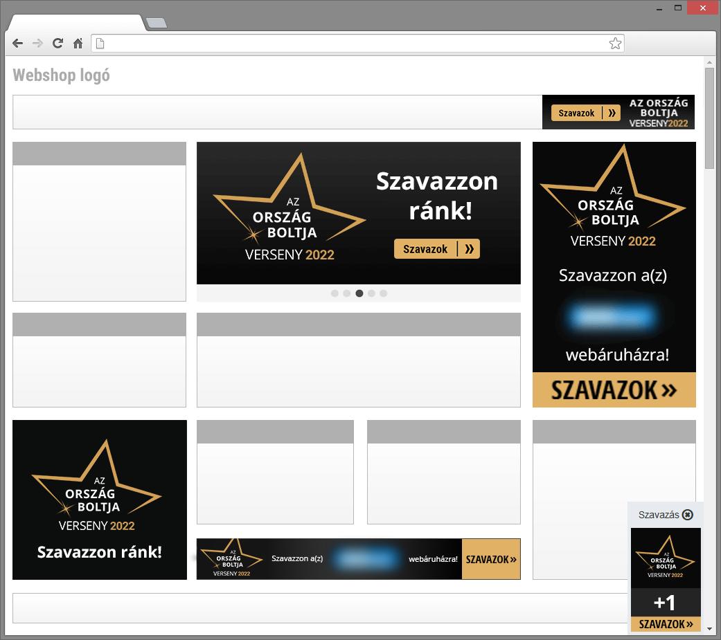 66202296ed Helyezzen el weboldalán minél több szavazódobozt vagy készítsen egyedi  bannert!
